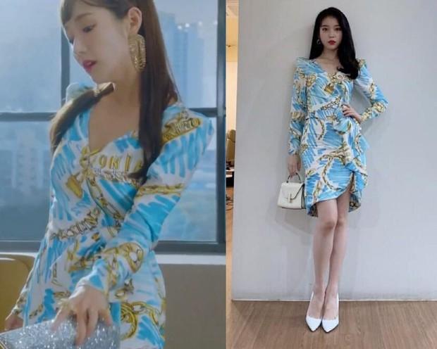 Park Min Young đụng váy hàng hiệu với IU: Nhờ thân hình đầy đặn mà thư ký Kim thắng đậm cô em về độ gợi cảm - Ảnh 7.