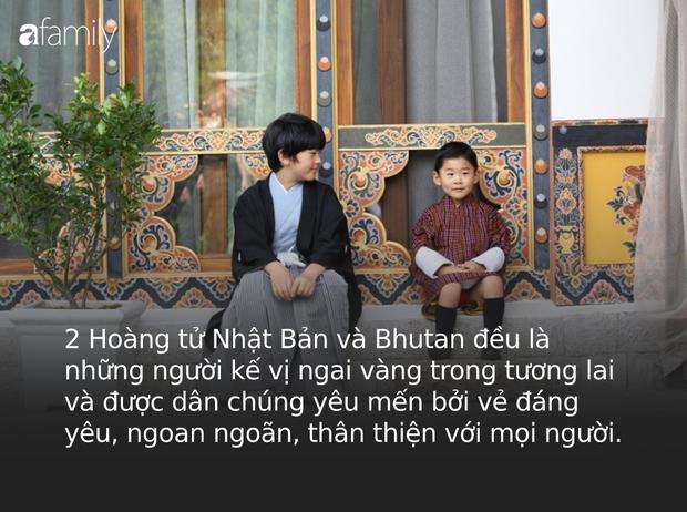 Hoàng hậu Bhutan đọ sắc Thái tử phi Nhật Bản nhưng 2 Hoàng tử nhỏ mới là tâm điểm chú ý, khiến người dùng mạng rần rần - Ảnh 5.