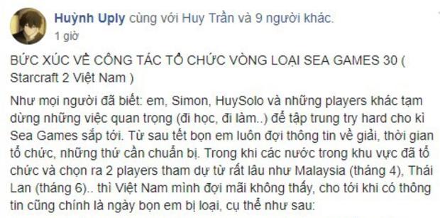 Chưa tới SEA Games, StarCraft Việt đã gặp cảnh tan đàn xẻ nghé, ngôi sao meomaika rời khỏi nhóm StarCraft lớn nhất Việt Nam - Ảnh 3.