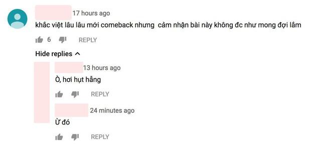 Dân tình phản ứng: Sản phẩm comeback của Khắc Việt gây thất vọng, Dương Hoàng Yến là cứu tinh của cả bài hát? - Ảnh 2.