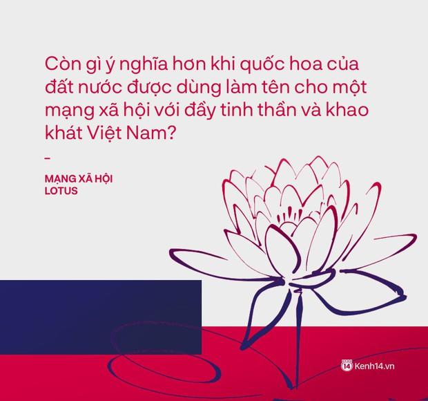 Mạng xã hội Việt vì sao lại tên là Lotus? - Ảnh 1.