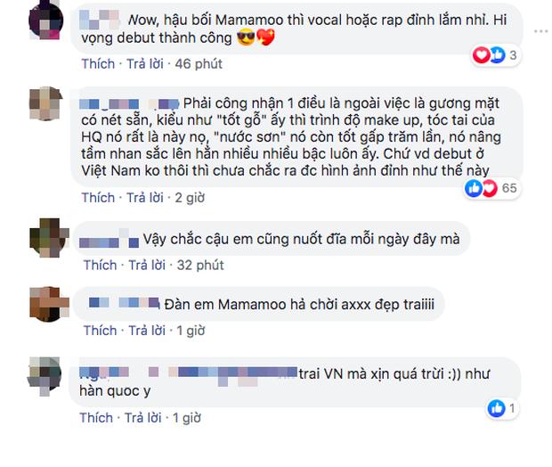 Netizen phát sốt với nam thực tập sinh người Việt là đàn em của MAMAMOO, sở hữu visual chuẩn idol Hàn sắp ra mắt - Ảnh 3.