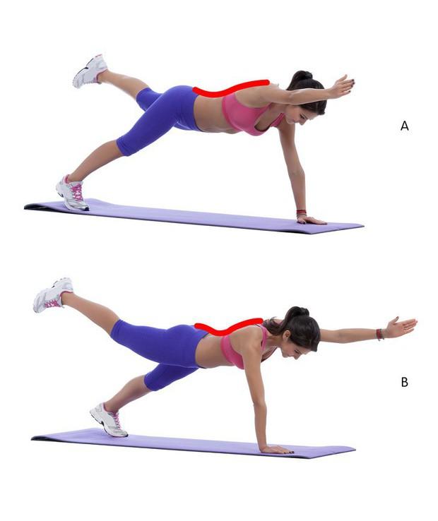 8 bài tập cải thiện vóc dáng, ngăn chặn tình trạng vẹo cột sống và cải thiện chứng đau cột sống hiệu quả - Ảnh 2.