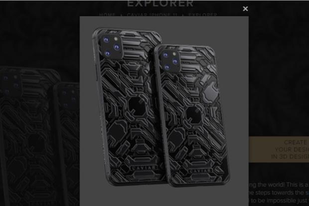iPhone 11 chưa ra mắt đã có bản siêu độc: Nạm thiên thạch và đá mặt trăng, giá hơn 1 tỷ đồng - Ảnh 3.