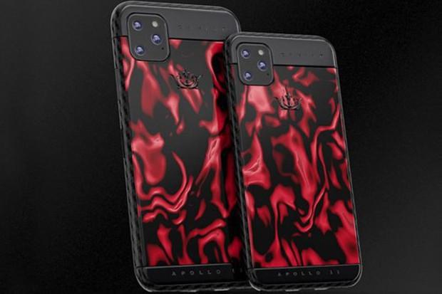 iPhone 11 chưa ra mắt đã có bản siêu độc: Nạm thiên thạch và đá mặt trăng, giá hơn 1 tỷ đồng - Ảnh 4.