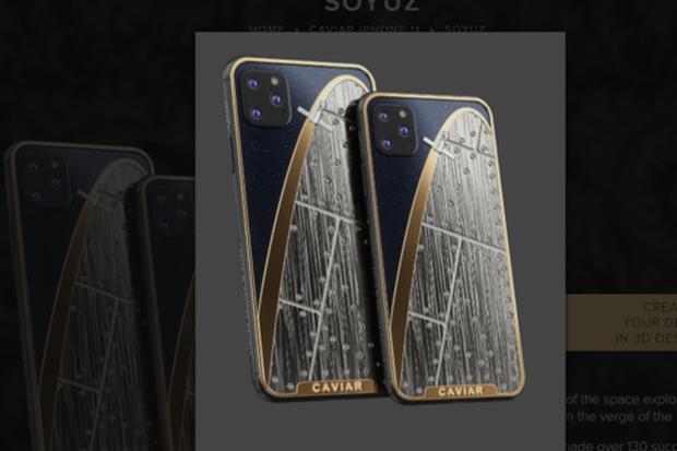 iPhone 11 chưa ra mắt đã có bản siêu độc: Nạm thiên thạch và đá mặt trăng, giá hơn 1 tỷ đồng - Ảnh 5.