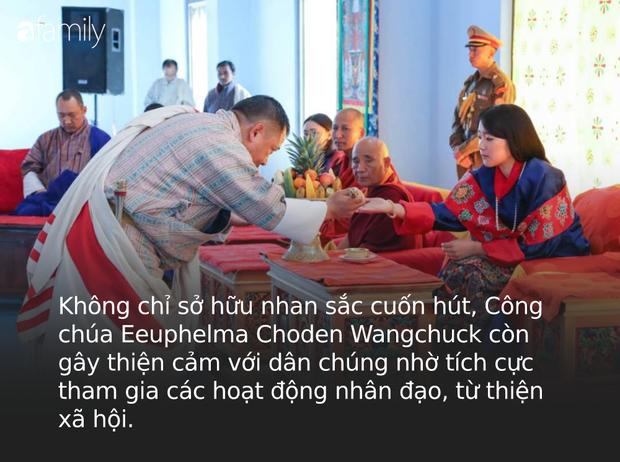 Chân dung thần tiên tỷ tỷ của Hoàng gia Bhutan, nàng công chúa tài sắc vẹn toàn, làm điên đảo cộng đồng mạng trong suốt thời gian qua - Ảnh 8.