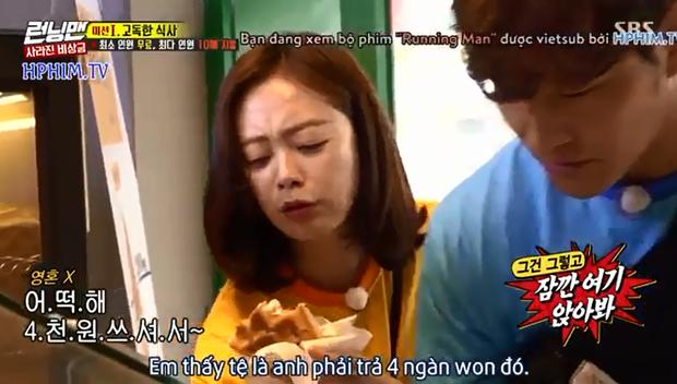 Running Man: Hóa ra cách tiết kiệm của Jeon So Min là... đu bám để Kim Jong Kook trả tiền mọi thứ! - Ảnh 5.