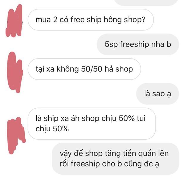 Mua hàng online nhưng thượng đế cứ kì kèo tiền ship, câu trả lời mặn chát của chủ shop khiến nhiều người gật gù - Ảnh 1.