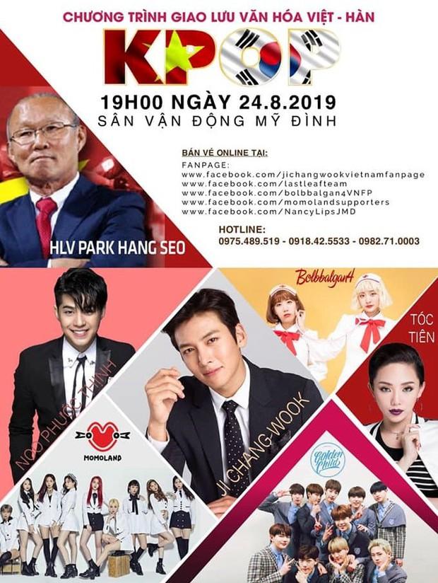 HOT: Trước 2 ngày diễn show, Tóc Tiên bất ngờ tuyên bố hủy biểu diễn tại concert có sự góp mặt của Ji Chang Wook - Ảnh 2.