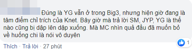 Thành viên NCT Dream gây sốc khi thẳng tay loại YG khỏi Big 3, dân Hàn và netizen Việt phản ứng khác hẳn nhau - Ảnh 5.