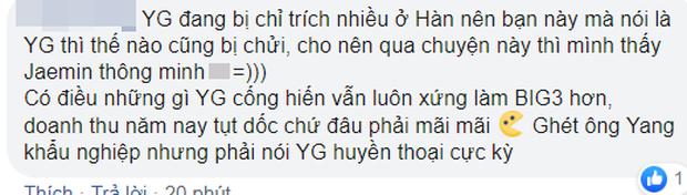Thành viên NCT Dream gây sốc khi thẳng tay loại YG khỏi Big 3, dân Hàn và netizen Việt phản ứng khác hẳn nhau - Ảnh 6.