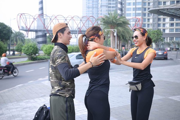 Cuộc đua kỳ thú: Minh Triệu, Lệ Hằng ôm mặt trên tòa nhà cao nhất Đông Nam Á - Ảnh 7.