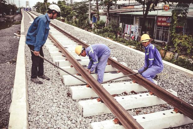 Cận cảnh cầu sắt Bình Lợi mới gần 500 tỉ đồng, sẵn sàng cho tàu hỏa Bắc - Nam chạy thử vào đầu tháng 9/2019 - Ảnh 10.