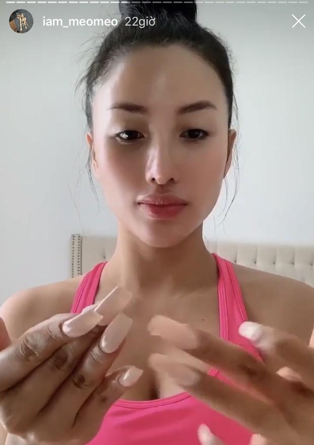 Meo Meo khiến hội chị em hồi hộp dùm vì chung sống với bộ móng tay dài hơn các nương nương trong phim cung đấu - Ảnh 3.