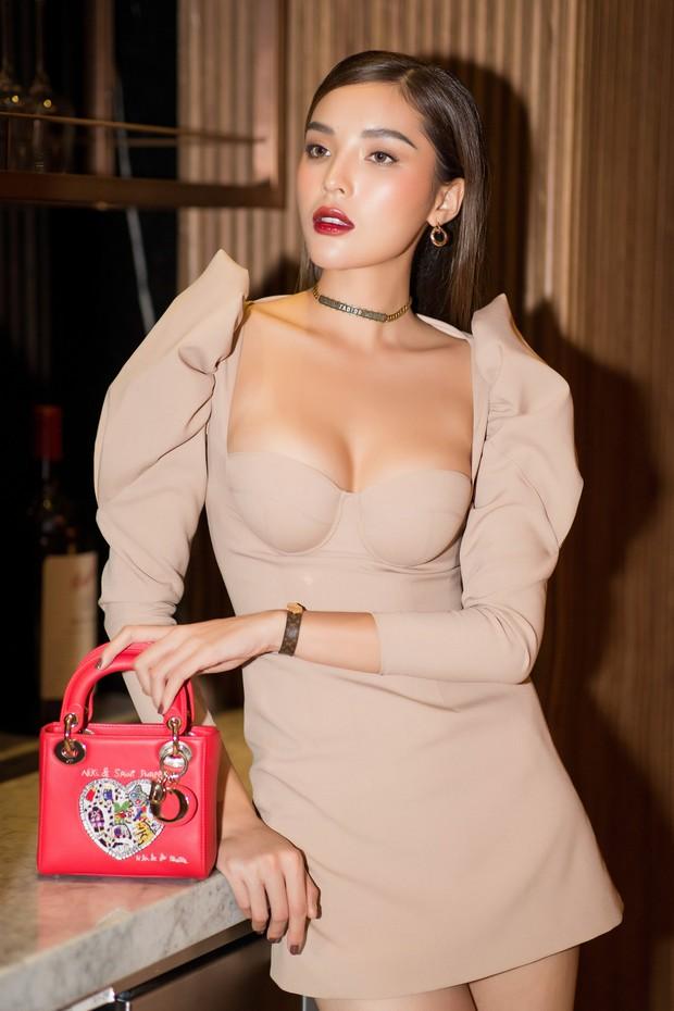 Diệp Lâm Anh khệ nệ bụng bầu ở tháng thứ 6 thai kỳ trong tiệc sinh nhật, Kỳ Duyên trễ nải cùng Minh Triệu đến chung vui - Ảnh 12.