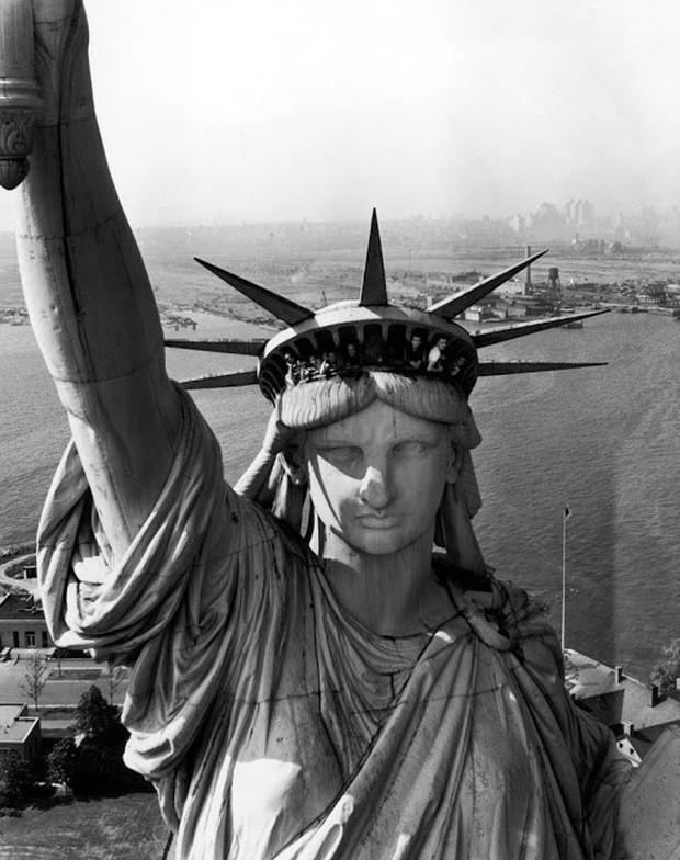 Ảnh hiếm ấn tượng về nước Mỹ nhìn từ trên cao hồi năm 1952 - Ảnh 1.