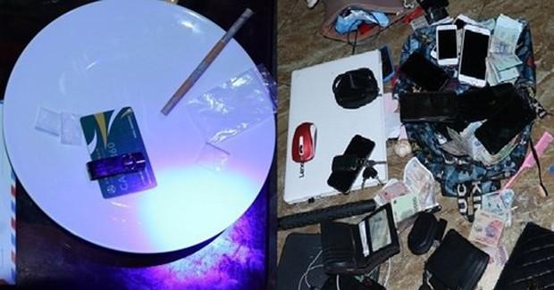 20 thanh niên Nghệ An chơi ma túy tập thể trong quán karaoke ở Hà Tĩnh - Ảnh 2.