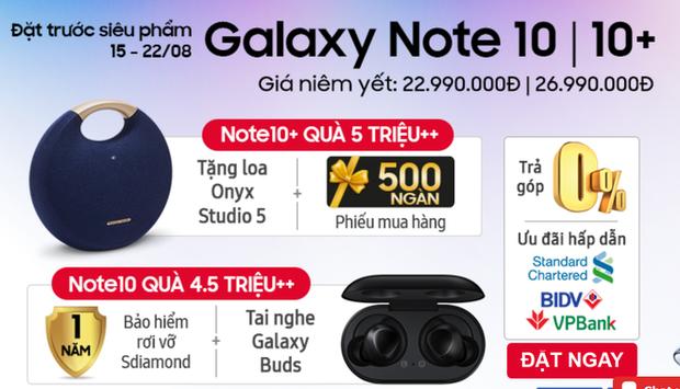 Thủ đoạn đi cửa sau với khách để bán Galaxy Note 10 giá rẻ hơn niêm yết của các nhà bán lẻ - Ảnh 1.