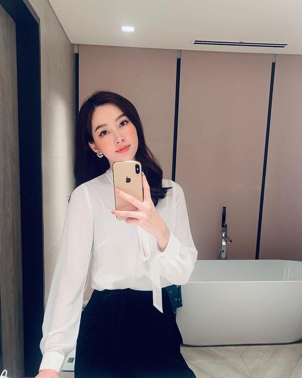 Hoa hậu Thu Thảo đích thị là tín đồ của áo blouse và bạn sẽ không phải hối hận nếu học cô sắm 5 kiểu sau - Ảnh 13.