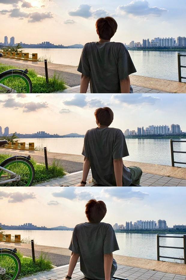 """Đã lâu rồi fan mới thấy BTS có kỳ nghỉ """"healthy và balance"""" đến vậy, bất ngờ nhất là phát hiện ra năng khiếu mới của Jin - Ảnh 3."""