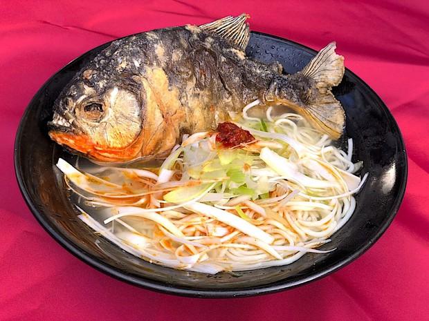 """Nhật Bản có món mì ramen nghe là sợ """"ướt quần"""": nấu bằng cá ăn thịt người piranha - Ảnh 3."""