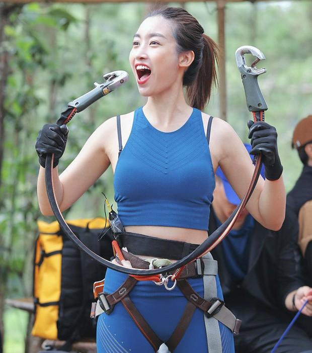 """Đỗ Mỹ Linh lại gây chú ý với bức hình hậu trường vừa công bố của """"Cuộc đua kỳ thú"""" - Ảnh 2."""
