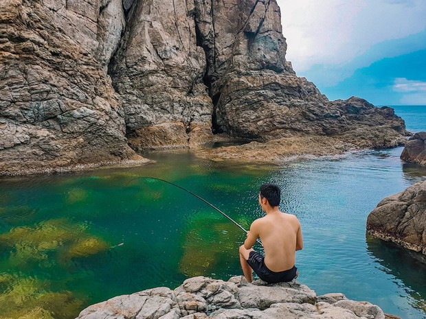 Đà Nẵng xuất hiện hồ bơi giữa biển đẹp y hệt nước ngoài, dân tình hớn hở rủ nhau đi sớm trước khi ai cũng biết chỗ này - Ảnh 19.