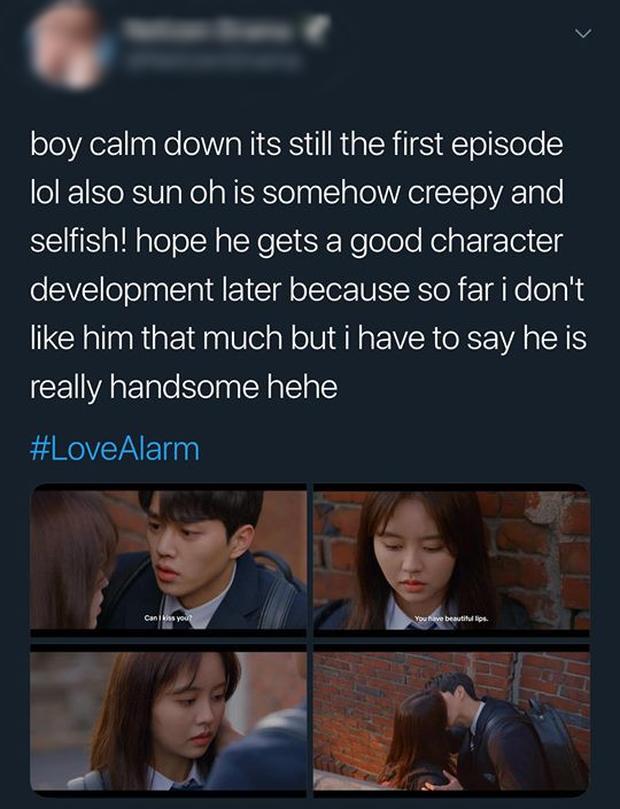 Love Alarm: Kim So Hyun đang có bồ vẫn bị trai đẹp nhất trường đè ra hôn giữa hẻm! - Ảnh 12.