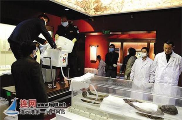 Bí ẩn về thi thể còn nguyên vẹn trong ngôi mộ cổ nghìn năm ở Trung Quốc, danh tính được xác định là tuyệt thế giai nhân thời Hán - Ảnh 2.