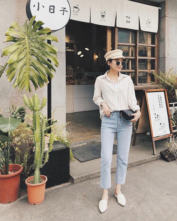 Để tránh bị chê không ra thể thống gì khi diện quần jeans đi làm, nàng công sở chỉ cần nhớ đúng 4 tips - Ảnh 2.