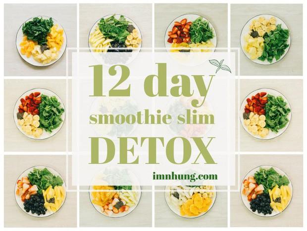 Nàng 9X chia sẻ kinh nghiệm xương máu khi uống rau-củ-quả để giảm 6kg trong 12 ngày - Ảnh 2.