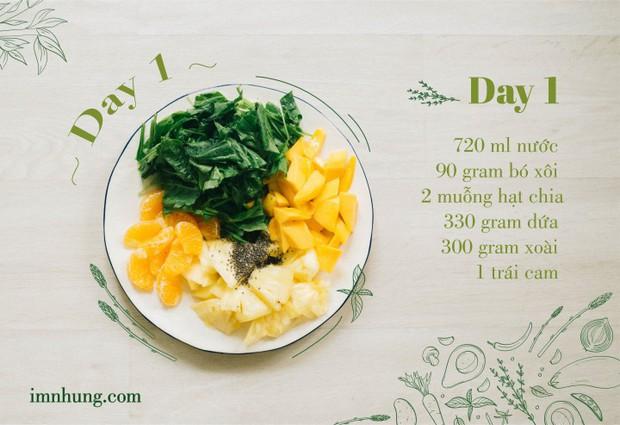 Nàng 9X chia sẻ kinh nghiệm xương máu khi uống rau-củ-quả để giảm 6kg trong 12 ngày - Ảnh 3.