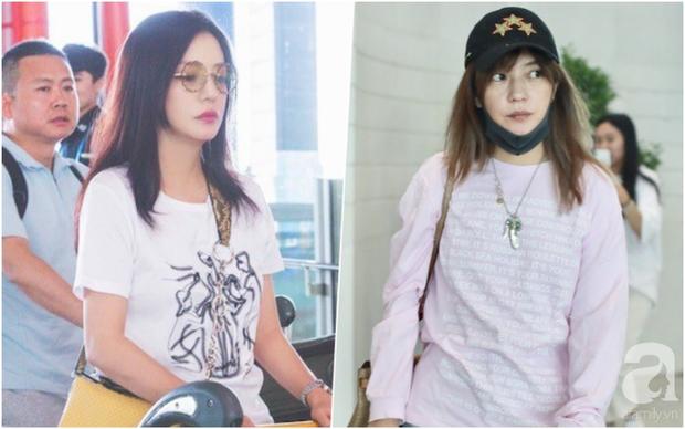 Triệu Vy bị chê luộm thuộm như bà thím tại sân bay: nguồn cơn chỉ vì kiểu tóc - Ảnh 2.