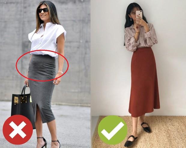 4 lỗi diện chân váy khiến chị em không bị dìm dáng thì trông cũng đến là kém duyên - Ảnh 2.