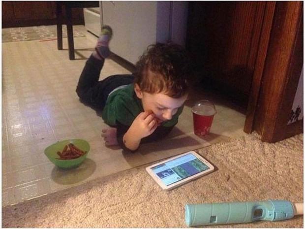 Những bức ảnh chứng minh trẻ thông minh hơn những gì người lớn tưởng - Ảnh 1.