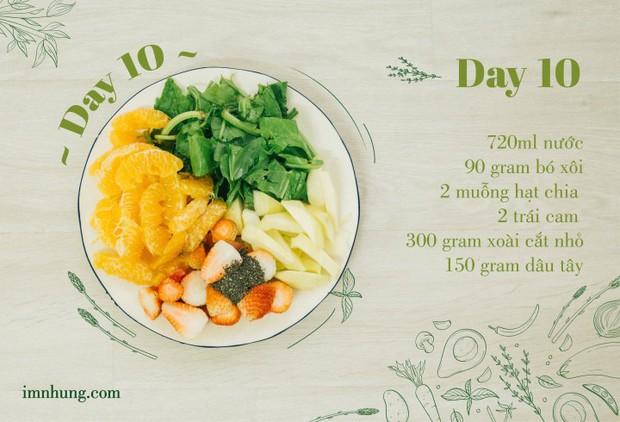 Nàng 9X chia sẻ kinh nghiệm xương máu khi uống rau-củ-quả để giảm 6kg trong 12 ngày - Ảnh 12.