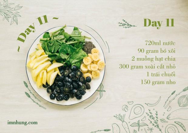 Nàng 9X chia sẻ kinh nghiệm xương máu khi uống rau-củ-quả để giảm 6kg trong 12 ngày - Ảnh 13.