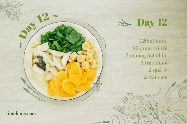Nàng 9X chia sẻ kinh nghiệm xương máu khi uống rau-củ-quả để giảm 6kg trong 12 ngày - Ảnh 14.