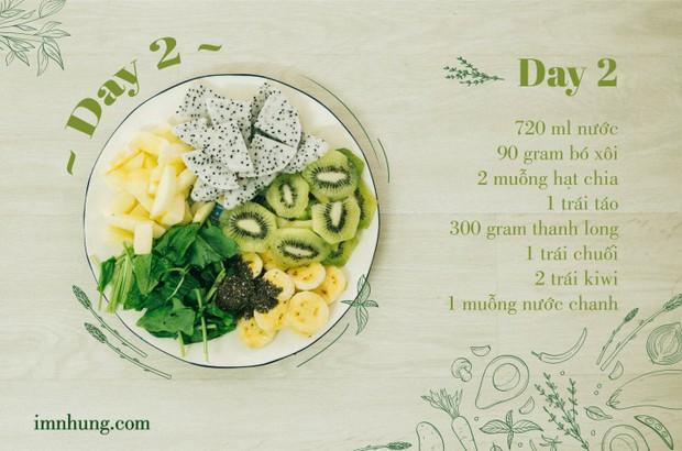 Nàng 9X chia sẻ kinh nghiệm xương máu khi uống rau-củ-quả để giảm 6kg trong 12 ngày - Ảnh 4.