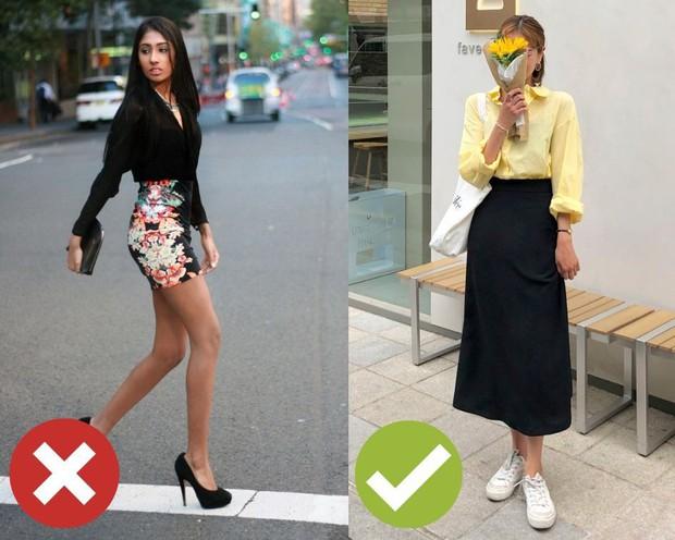 4 lỗi diện chân váy khiến chị em không bị dìm dáng thì trông cũng đến là kém duyên - Ảnh 3.