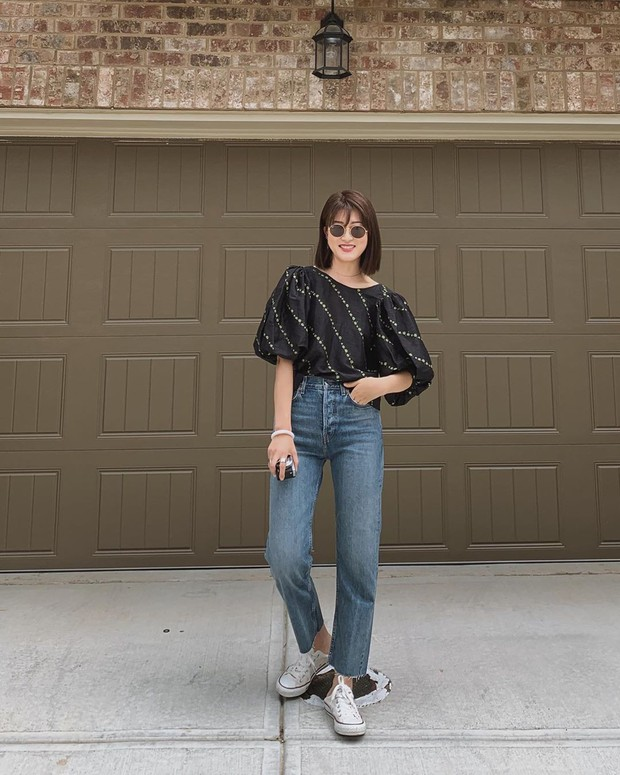 Để tránh bị chê không ra thể thống gì khi diện quần jeans đi làm, nàng công sở chỉ cần nhớ đúng 4 tips - Ảnh 4.