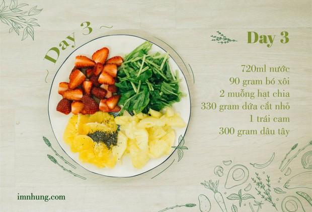 Nàng 9X chia sẻ kinh nghiệm xương máu khi uống rau-củ-quả để giảm 6kg trong 12 ngày - Ảnh 5.