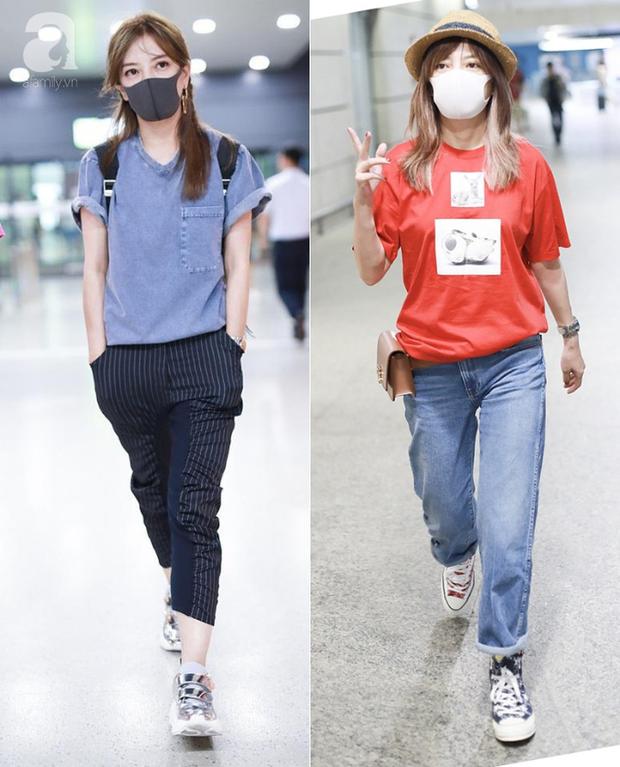 Triệu Vy bị chê luộm thuộm như bà thím tại sân bay: nguồn cơn chỉ vì kiểu tóc - Ảnh 4.