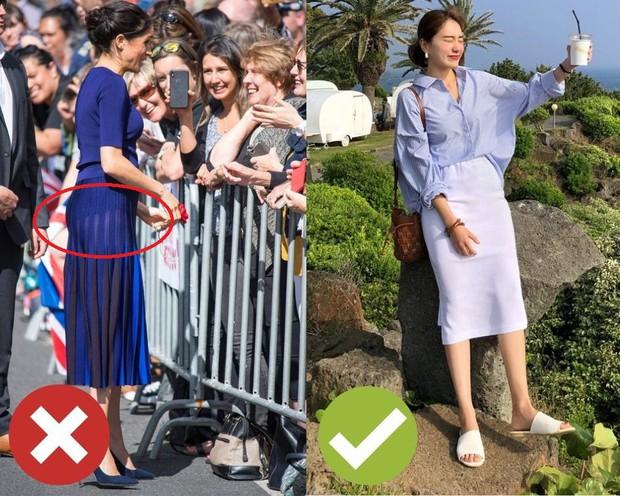 4 lỗi diện chân váy khiến chị em không bị dìm dáng thì trông cũng đến là kém duyên - Ảnh 4.