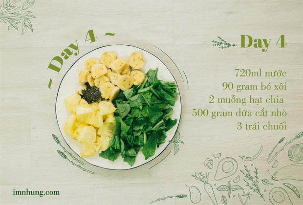 Nàng 9X chia sẻ kinh nghiệm xương máu khi uống rau-củ-quả để giảm 6kg trong 12 ngày - Ảnh 6.