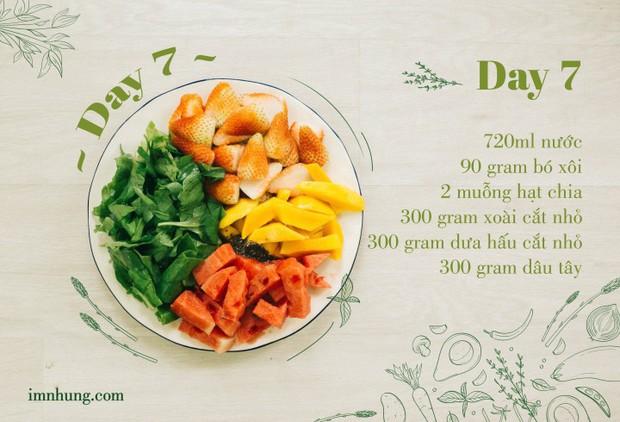 Nàng 9X chia sẻ kinh nghiệm xương máu khi uống rau-củ-quả để giảm 6kg trong 12 ngày - Ảnh 9.