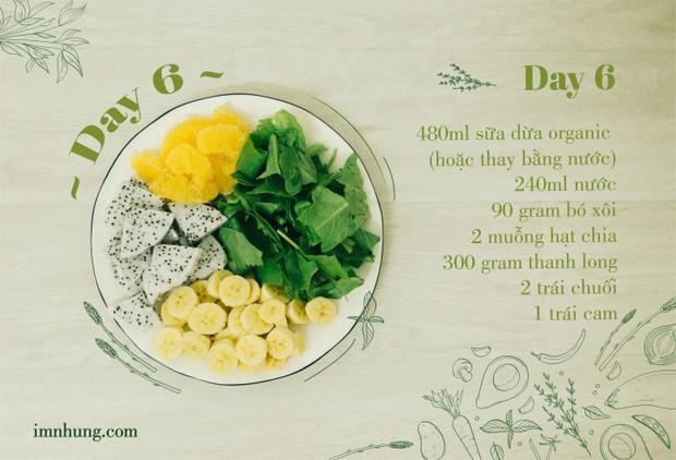 Nàng 9X chia sẻ kinh nghiệm xương máu khi uống rau-củ-quả để giảm 6kg trong 12 ngày - Ảnh 8.