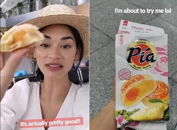 Hoa hậu Hoàn vũ Pia Wurtzbach tới Hội An xếp hàng mua bánh mì Phượng, khoe món bánh Pía từng bị dân mạng chế ảnh hồi mới đăng quang - Ảnh 8.