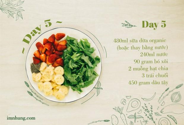 Nàng 9X chia sẻ kinh nghiệm xương máu khi uống rau-củ-quả để giảm 6kg trong 12 ngày - Ảnh 7.